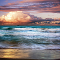 Evening At Kailua Beach by Charmian Vistaunet