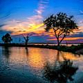 Evening At Riverwinds by Nick Zelinsky