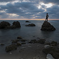 Evening At Sidna Ali Beach 3 by Dubi Roman