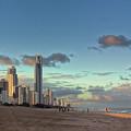 Evening At The Gold Coast by Jukka Heinovirta