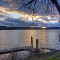 Evening Blues by Idaho Scenic Images Linda Lantzy