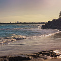 Evening By The Beach by Jukka Heinovirta