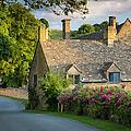 Evening Cottage by Brian Jannsen