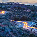 evening drive at Canyonlands National park Utah by Alex Grichenko
