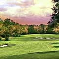 Evening Golf Course Scene by Michael Forte