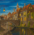 Evening In Brugge by Charlotte Blanchard