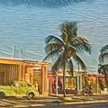 Evening In Cuba by David Frigerio
