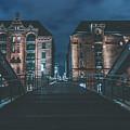 Evening In Hamburg by Pixabay