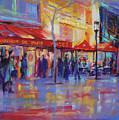 Paris Cafe by David Garrison