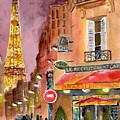 Evening In Paris by Sheryl Heatherly Hawkins