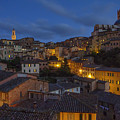 Evening In Siena by Spencer Baugh