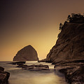 Evening In The Cove by Don Schwartz