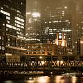 Evening In The Windy City by Miguel Winterpacht