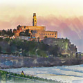 Evening Mood In Jaffa by Harald Hillemanns