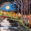 Evening Near The Pond by John Williams