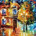 Evening New Original by Leonid Afremov