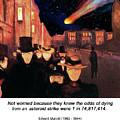 Evening On Karl Johan Street 1892 by John Saunders
