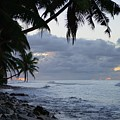 Evening On The Beach by Michael Scott