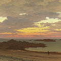 Evening On The Coast by Frederick William Meyer
