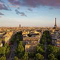 Evening Over Paris by Brian Jannsen
