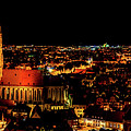 Evening Panorama - Landshut Germany by Pixabay