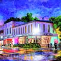 Evening Rain In Auburn by Mark Tisdale