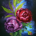 Evening Roses by Francine Henderson