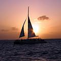 Evening Sail by Ania M Milo