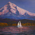 Evening Sail by Jeanette French