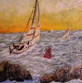 Evening Sail by Rowlf Welch