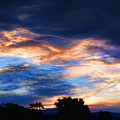 Evening Sky by James BO  Insogna