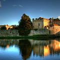 Evening Sun At Leeds Castle by Chris Thaxter