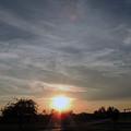 Evening Sunset by Chris Patel