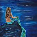 Evening Tide Mermaid by Leslie Allen