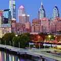 Evening Walk In Philly by Frozen in Time Fine Art Photography