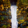 Evening Waterfall by Darlene Bell