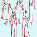 Evening Wear, 1956 by Science Source
