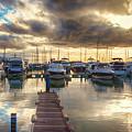 evening yachts marine,  Algarve, Portugal by Ariadna De Raadt