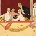 Eventails by Georges Barbier