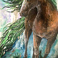 Ever Green  Earth Horse by Sherry Shipley