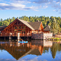 Evergreen Boathouse by Tim Kathka