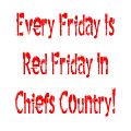 Every Friday Is Red Friday In Chiefs Country 1 by Andee Design