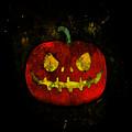 Evil Halloween Pumpkin by Bamalam  Photography