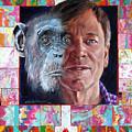 Evolution Of The Self Portrait by John Lautermilch