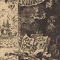 Ex-libris De L?on Lerey (ex-libris Of Leon Lerey) by F?lix-hilaire Buhot