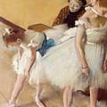 Examen De Danse-dance Examination by Edgar Degas