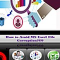 Excel Troubleshooting To Fix Corrupt/damaged Excel File by Alice Jolly