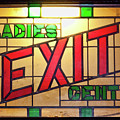 Exit - Ladies/gents Art Deco Sign by Tatiana Travelways