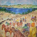 Exodus by Impressionist FineArtist Tucker Demps Collection