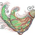 Exotic Bird I by Lise Winne